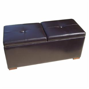 Paris French Storage Ottoman