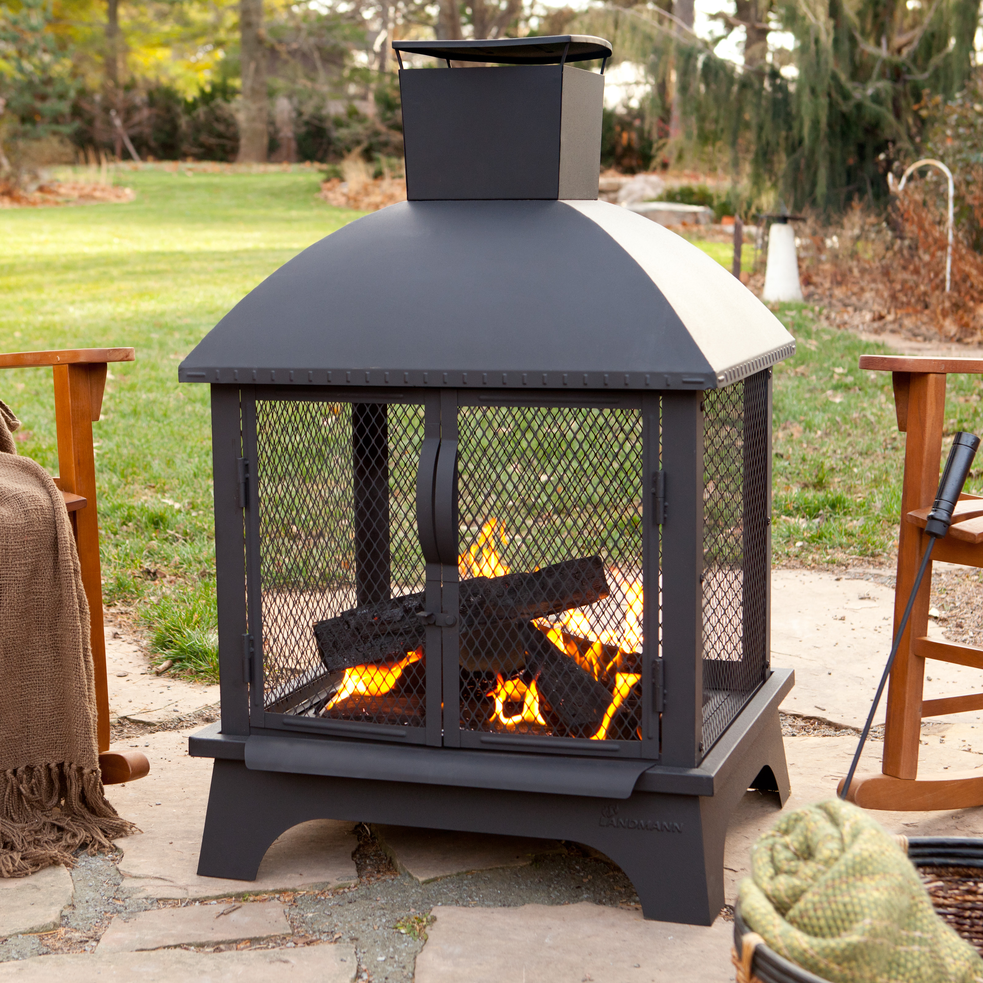 Landmann Redford Fireplace Fireplaces Chimineas At Hayneedle