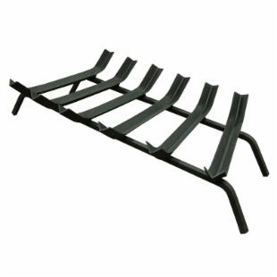 Landmann USA 30 in. Gelled Firestarter V-Bar Steel Fireplace Grate