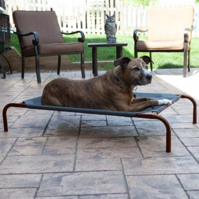 Coolaroo Deluxe Pet Bed - Charcoal Best Price