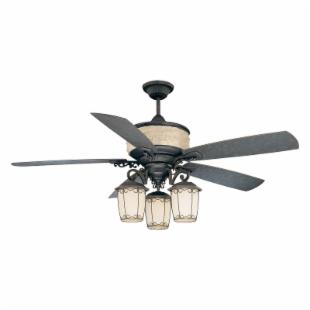 Ellington AST60BBZ5CRW Austonia 60 in. Indoor/Outdoor Ceiling Fan - Blacksmith Bronze