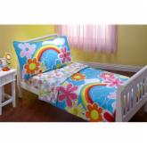Everything For Kids - Happiness 4 pc Toddler Bedding Set