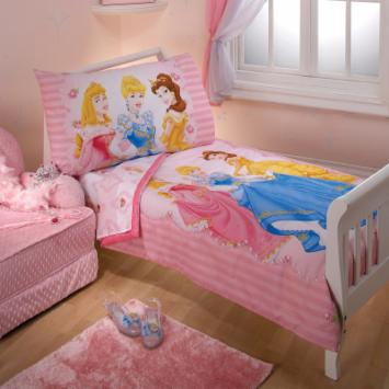 Disney Princess Dreams 4 pc Toddler Bedding Set