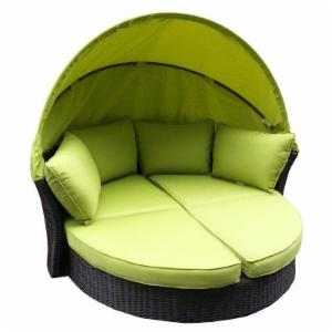 Discount outdoor daybeds on hayneedle outdoor daybeds on for Antigua wicker chaise
