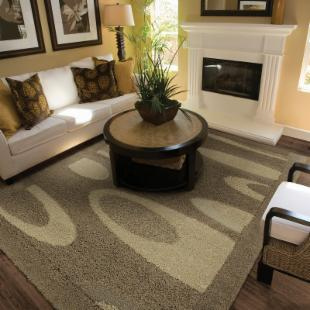 Couristan Epics Orbital Rug - Warm Beige