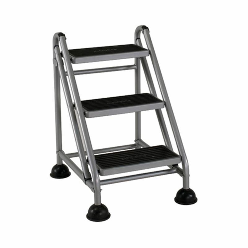Cosco 3 Step Rolling Commercial Step Stool