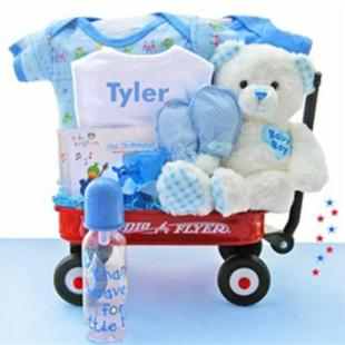 All Boy Baby Wagon-Personalized
