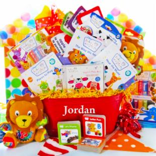 Baby Einstein Touch and Discover Deluxe Baby Gift Basket