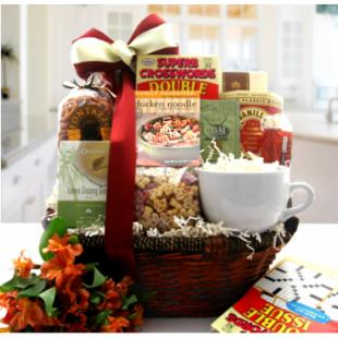 A Speedy Recovery Get Well Gift Basket