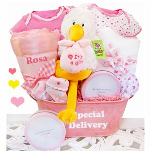 A Special Delivery Girl&#39;s Gift Basket
