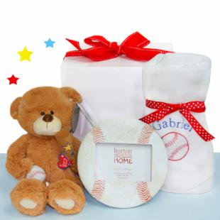 Baby Baseball Gift Set
