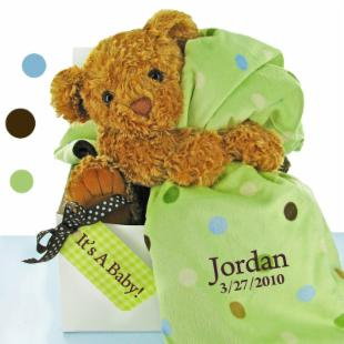 Bear Essentials Gift Set - Green