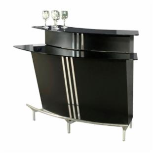 Chintaly Broadway Two Tiered Indoor Home Bar