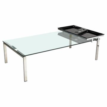 Buy Chintaly Skylar Cocktail Table Motion Tray 1016 8013