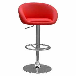 Chintaly Woodbury Adjustable Swivel Bar Stool