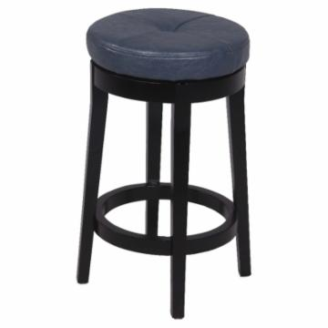 chintaly oakland swivel backless 26 in counter stool bar stools at hayneedle. Black Bedroom Furniture Sets. Home Design Ideas