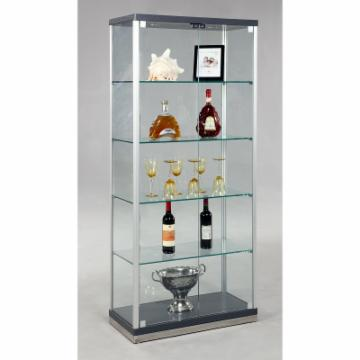 Buy Chintaly Paris Glass Curio Cabinet 1216 12968