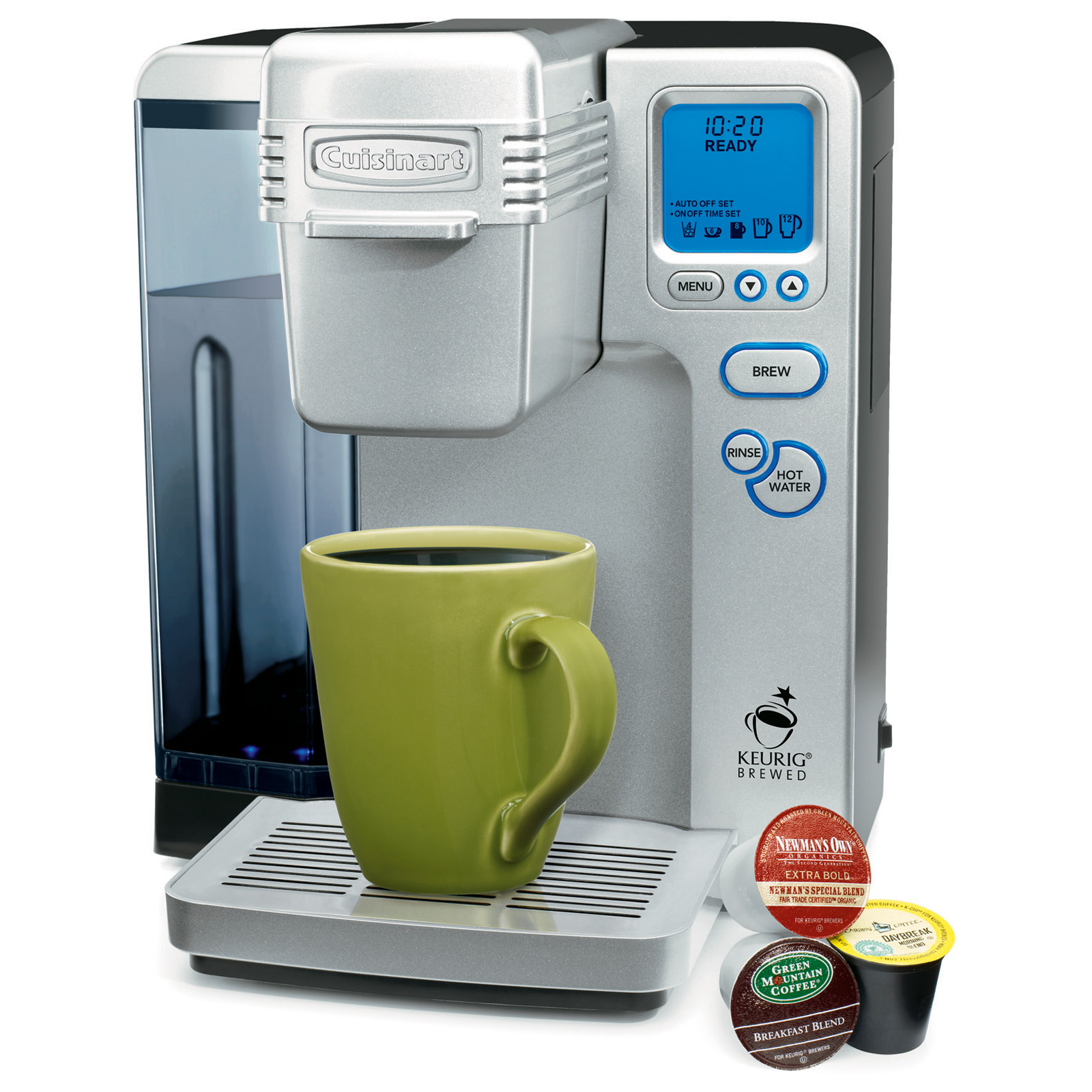 Single Serve Coffee Maker With Large Reservoir : Cuisinart Keurig Brewed SS-700 Single-Serve Brewing System with Hot Water System - Coffee Makers ...