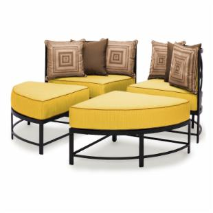 Caluco San Michele Round Sectional Set
