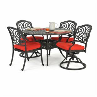 Caluco Castelle Patio Dining Set - Seats 4