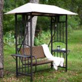  Coral Coast Bellora 2 Person Gazebo Swing - Natural