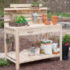  Simply Grow Cedar Potting Bench