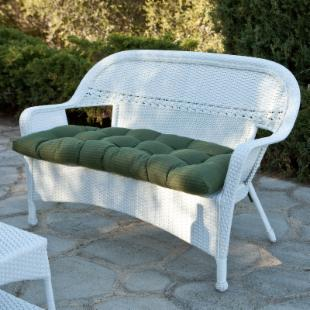 Key West All-Weather Wicker Loveseat