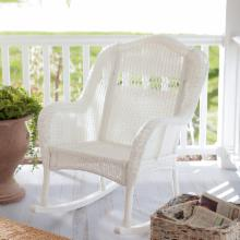  Casco Bay Resin Wicker Rocking Chair