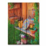  Gizaun Art French Pottery Indoor/Outdoor Full Color Cedar Wall Art
