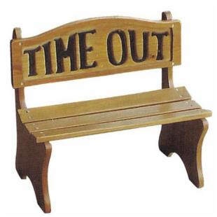 DC America Kids Time Out Bench