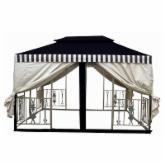  11.5 ft. x 11.5 ft. Desert Stone Two Tier Gazebo
