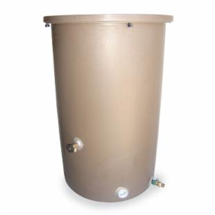 Tijeras 27 x 42 in. Agua Fria-Plus Bowled Rain Barrel