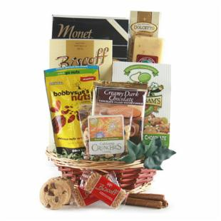 Blissful Snacking Gift Basket