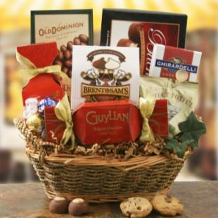Chocolate Splendor Gift Basket