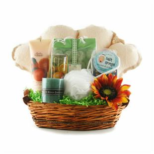 For the Love of Nature Gift Basket