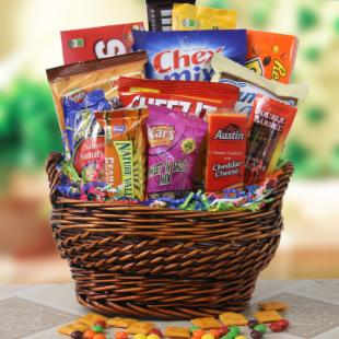 Snack Surprise Gift Basket