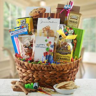 Time to Celebrate Gift Basket