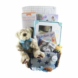 Boys will be Boys Gift Basket
