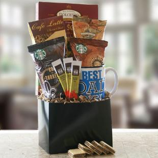We Love Dad Gift Basket