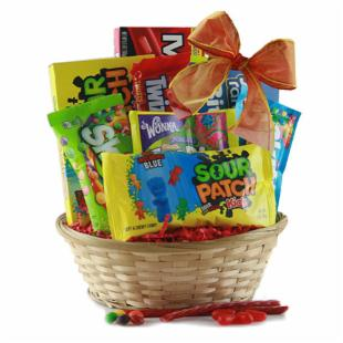 Candy Kisses Gift Basket