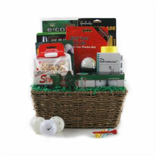 Golf Madness Gift Basket