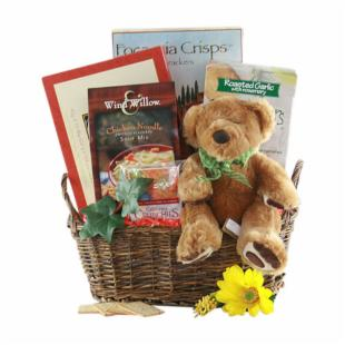 Bear Hugs Gift Basket