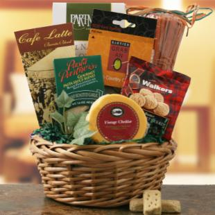 Delicious Bounty Gift Basket
