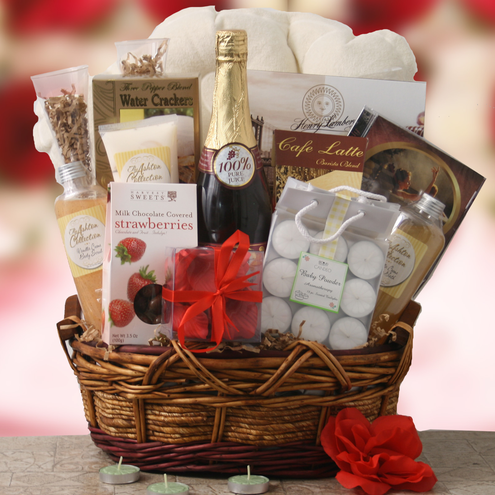 Ideas For Wedding Gift Hamper : ... Sympathy, New Baby & Birthday Gift Baskets for Sale at GiftBaskets.com