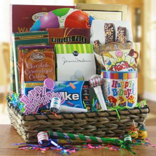 Birthday Bonanza Gift Basket