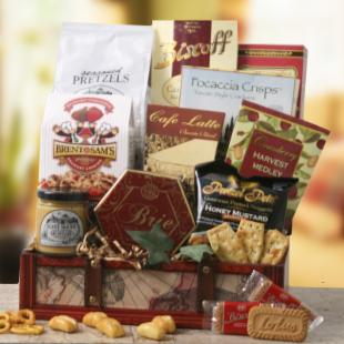 Gourmet Treasures Gift Basket