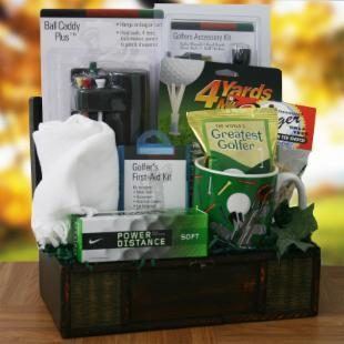 Hole in One Gift Basket