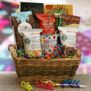 Birthday Celebrations Gift Basket