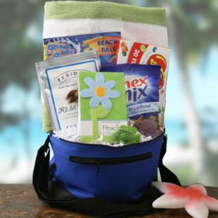 Beach Baby Gift Basket