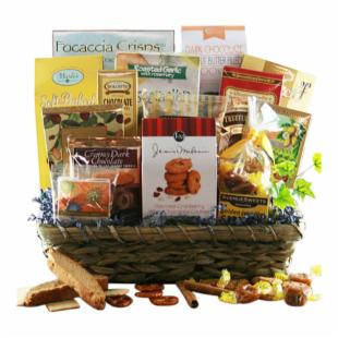 Grand Lux Gift Basket
